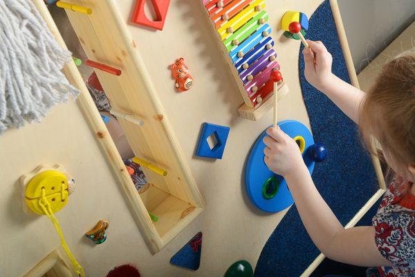 Детский развивающий центр своими руками