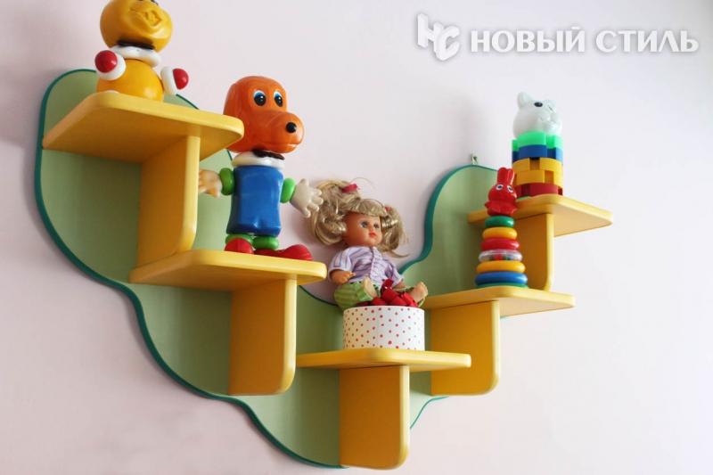 Полочка для детского сада своими руками