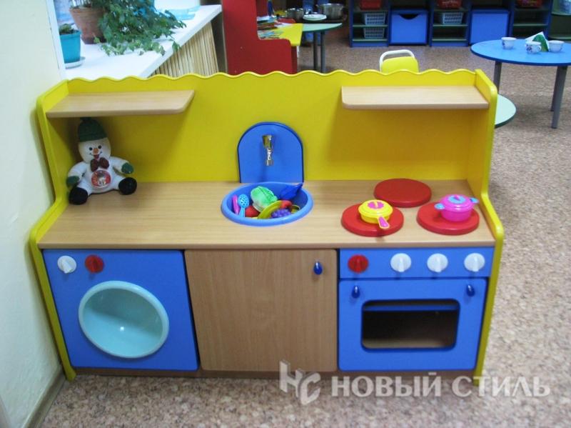 Детская кухня для детского сада своими руками 33