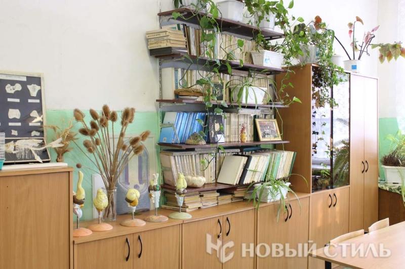 Биологии оборудование для кабинета