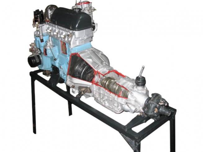 Двигатель ВАЗ 2101-07 с