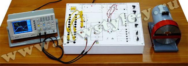 """""""Релейно-контакторные схемы управления двигателя постоянного тока """" исполнение настольное ручное (РКС-ДПТ) ."""