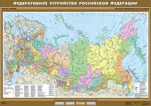Федеративное устройство Российской Федерации