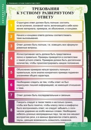 ЛИТЕРАТУРА 6 класс