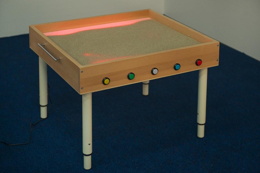 Столы с подсветкой для рисования песком своими